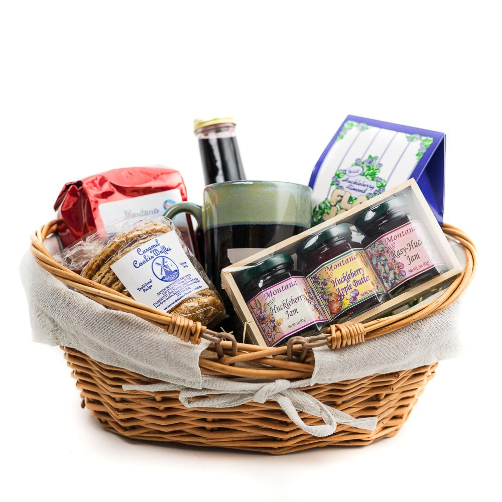 Breakfast in Montana Gift basket by Montana Gift Corral