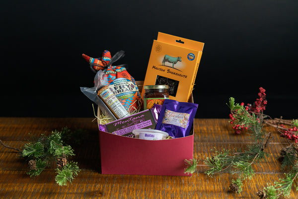 Montana Made Food Gift Box by Montana Vendors
