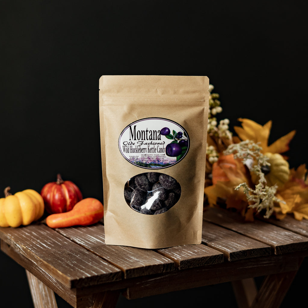 Montana-made Old Fashioned Huckleberry Candy by Huckleberry People