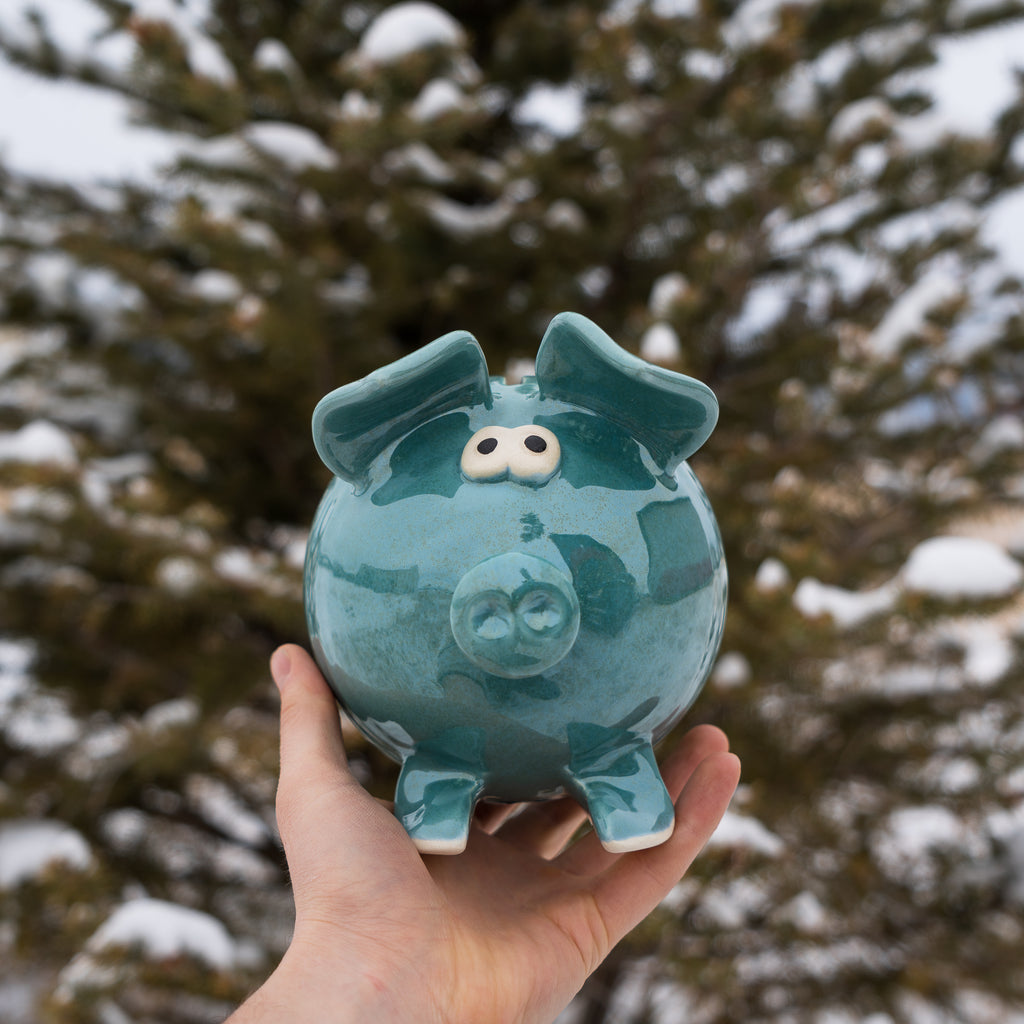 piggy bank by Clay in Motion