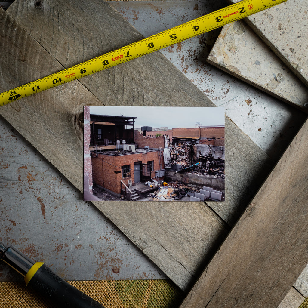 Image of the 2009 Downtown Bozeman Gas Explosion