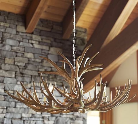 Antler Chandelier for High Country Arts