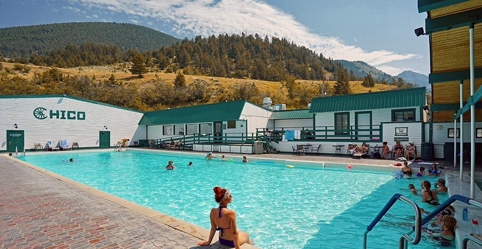 Chico Hot Springs Five Natural Hot Springs Near Bozeman, Montana!