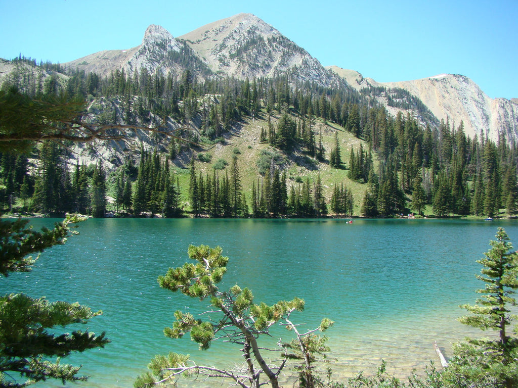 Fairy Lake near the campground in the Bridgers of Montana