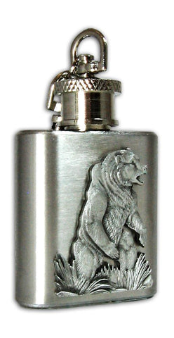 Mini Flask Keychain Montana souvenir at Montana Gift Corral