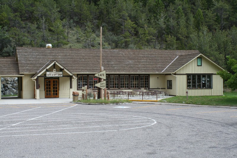 Montana Gift Corral gift shop at Lewis & Clark Caverns State Park