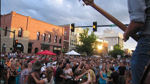 Music on Main, Downtown Bozeman, Summer Events, Montana