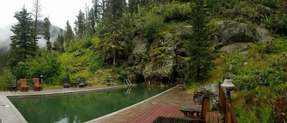 Potosi Hot Springs Five Natural Hot Springs Near Bozeman, Montana!