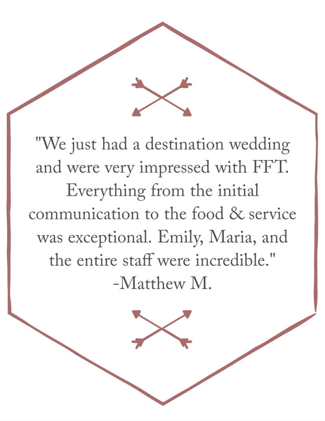 Food for Though catering review in Bozeman Montana