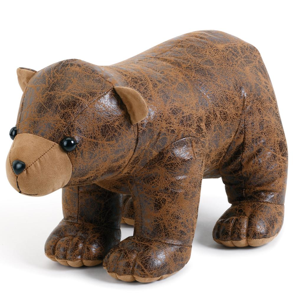 Un-bear-ably a-door-able bear door stopper by big sky carvers and demdaco on Decorating Your New Bozeman Home with MGC Decor