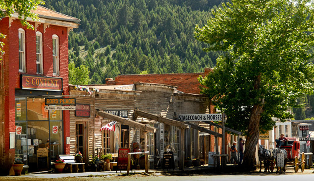 Historic Virginia City Montana