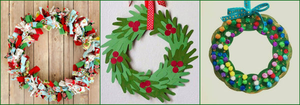DIY Kid Wreaths for the Perfect Christmas Setting this Holiday Season with Montana Gift Corral