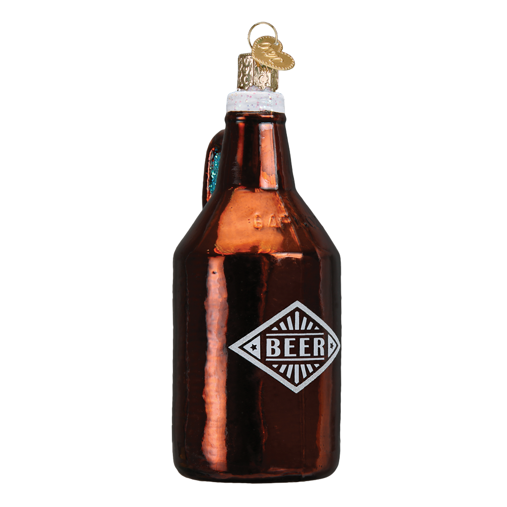 Beer Growler Ornament by Old World Christmas