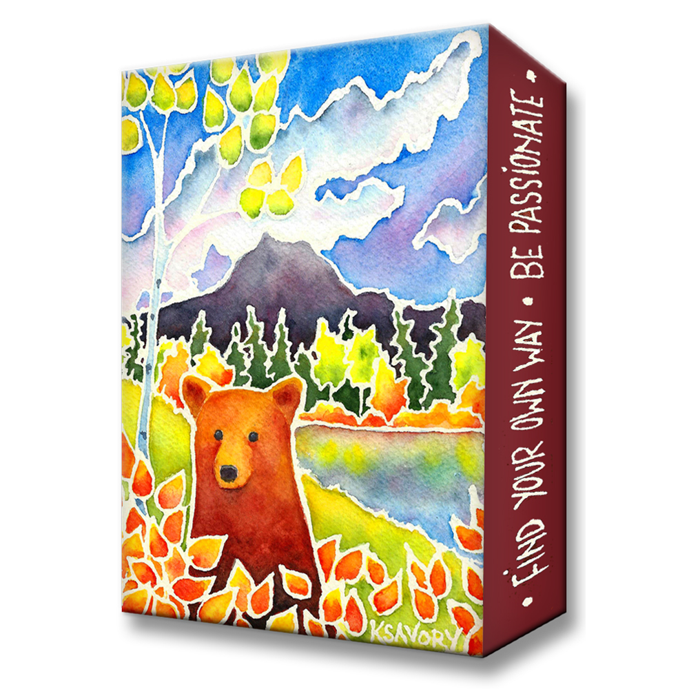 Karen Savory Discover a Hidden Meadow Metal Box Art by Meissenburg Designs