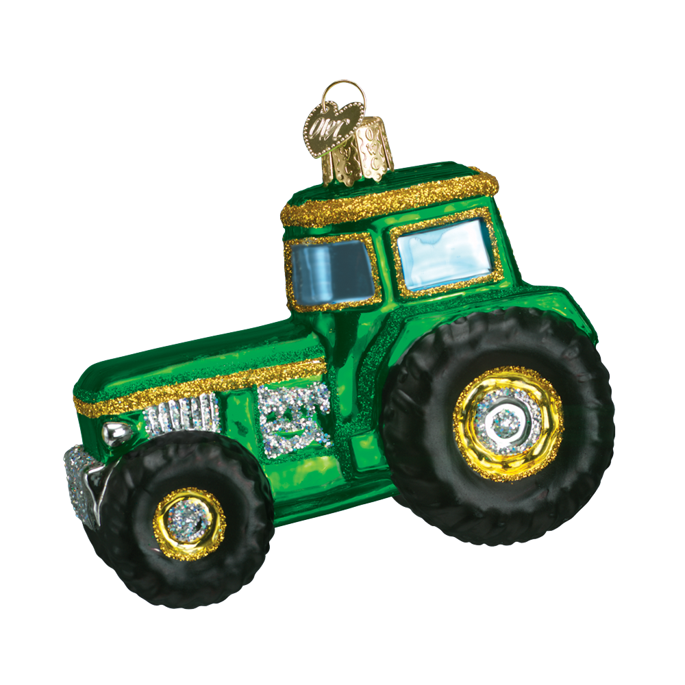 Tractor Ornament by Old World Christmas
