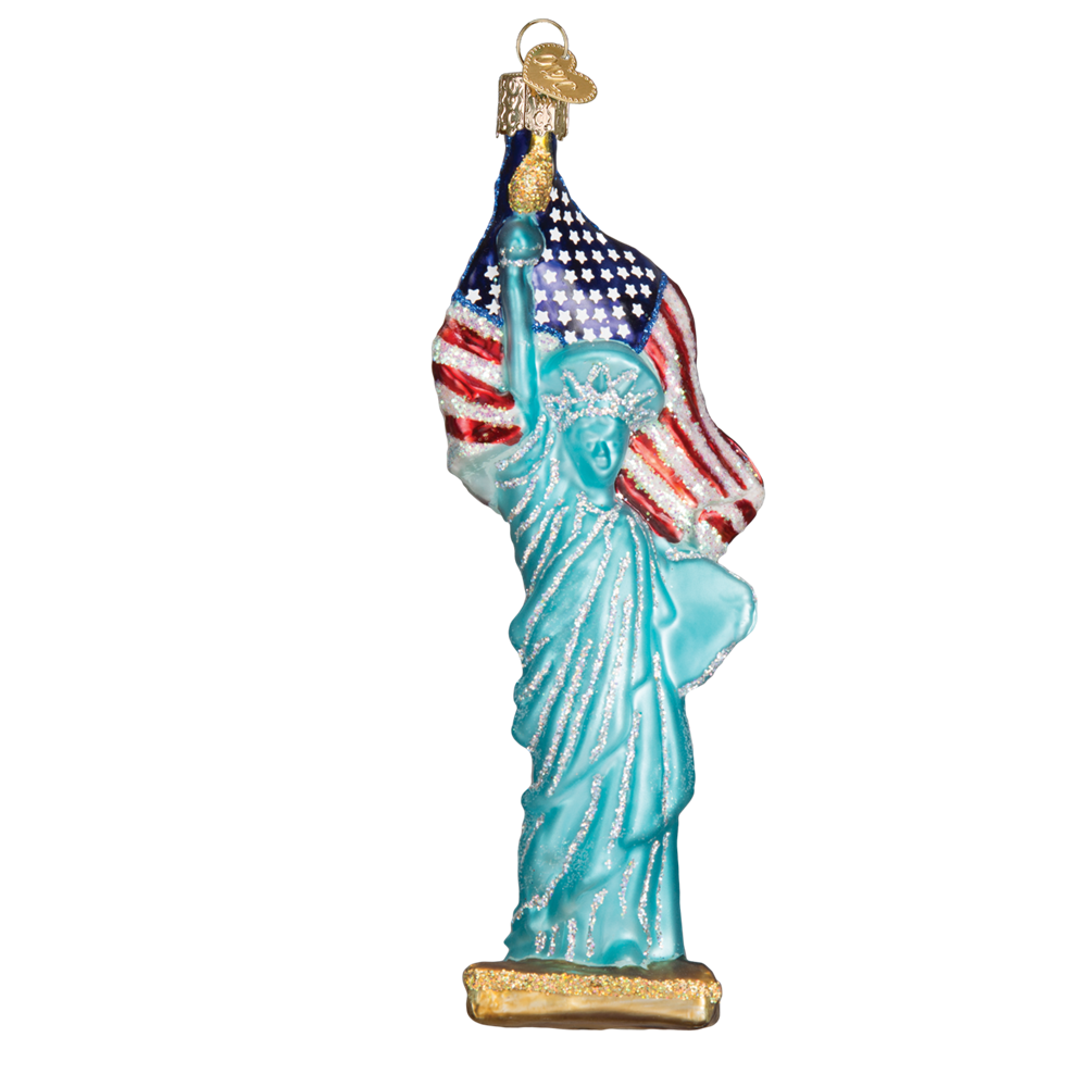Statue of Liberty Ornament by Old World Christmas