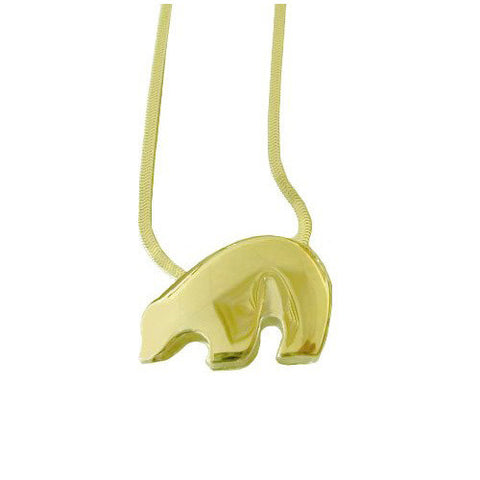 Sam Ferraro Black Bear Gold Pendant