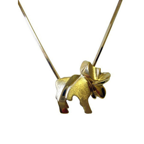 Sam Ferraro Moose Gold Pendant