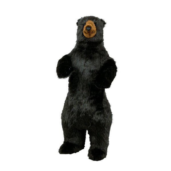 "48"" Tall Standing Black Bear by Ditz Designs"