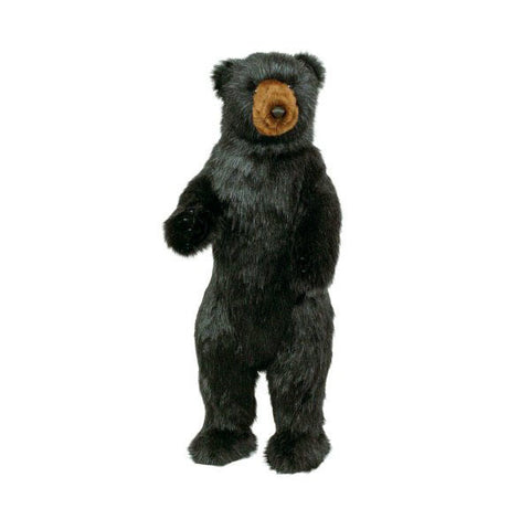 "36"" Tall Small Standing Black Bear by Ditz Designs"