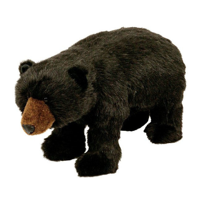 Black Bear Footrest by Ditz Designs