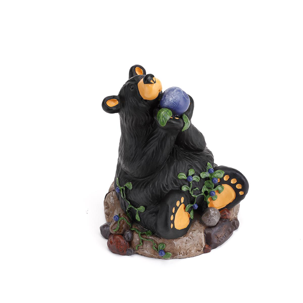 Berry Heaven Bearfoots Figurine by Jeff Fleming