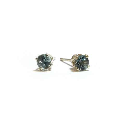 Montana Sapphire Sterling Silver Earrings by Studio Montana