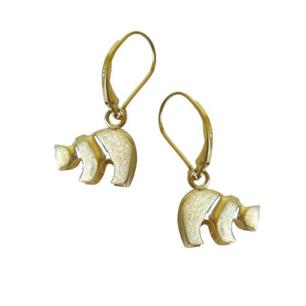 Sam Ferraro Grizzly Gold Earrings