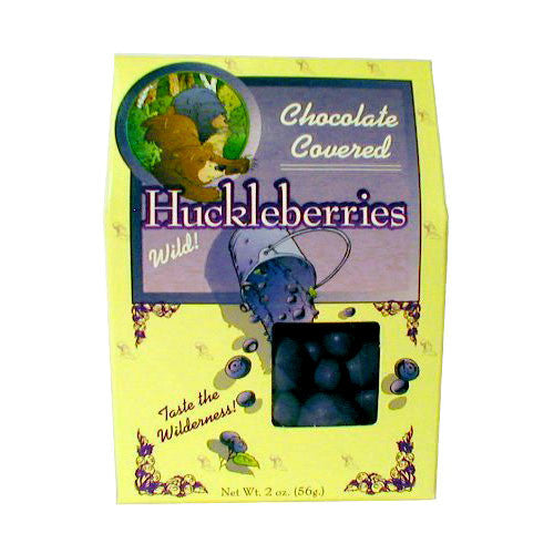 Chocolate Covered Huckleberries