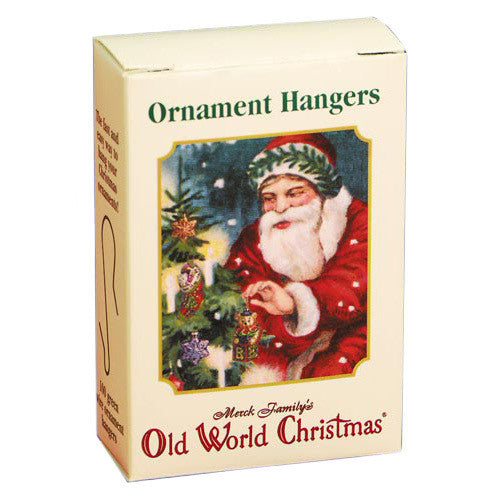 100 Green Ornament Hangers by Old World Christmas