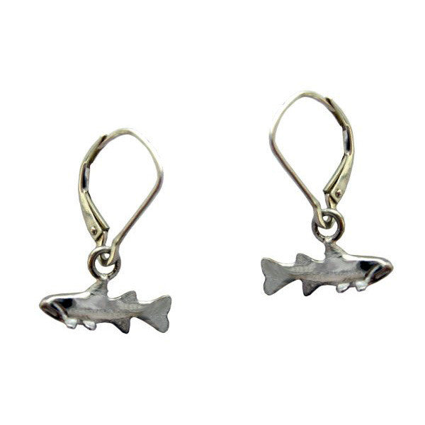 Sam Ferraro Trout Silver Earrings
