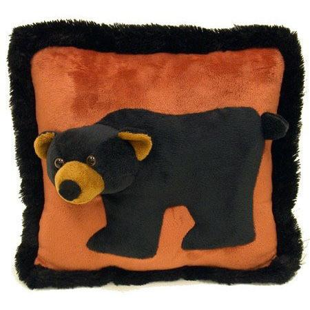 3D Bear Pillow by Wishpets