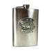 Snowmobile Montana Flask by Heritage Metalworks