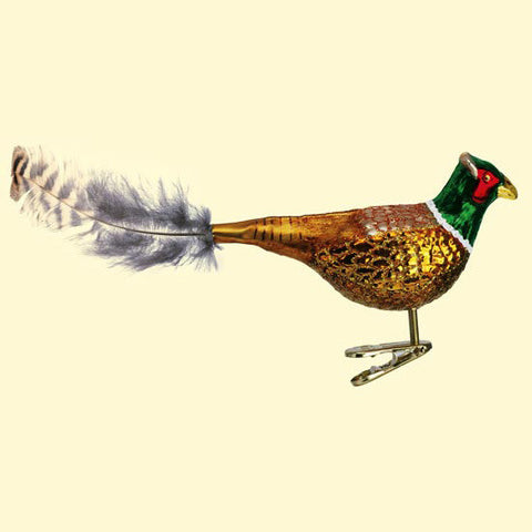 Old World Christmas Pheasant Ornament