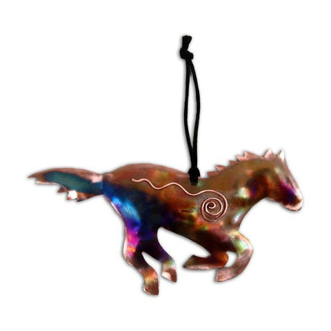 Copper Horse Ornament