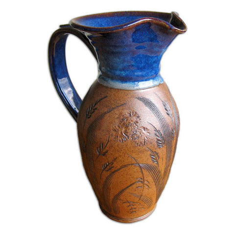 Midnight Blue Half Gallon Pitcher