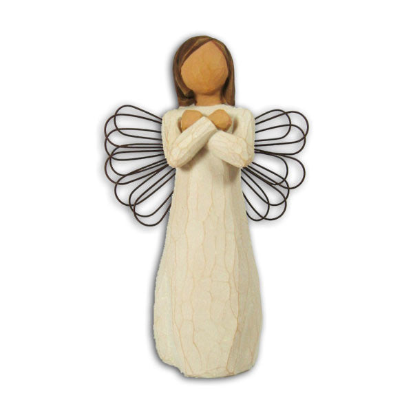 Sign for Love Willow Tree Figurine by Susan Lordi