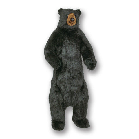 "58"" Large Standing Black Bear by Ditz Designs"
