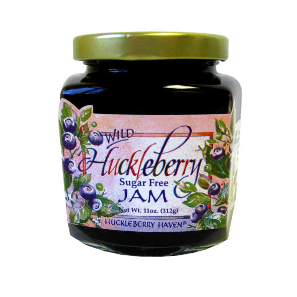 Sugar Free Huckleberry Jam - 11 oz.