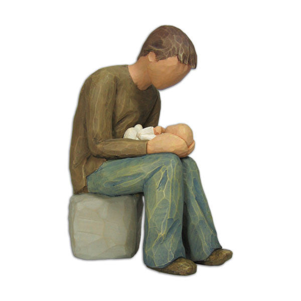 New Dad Willow Tree Figurine by Susan Lordi