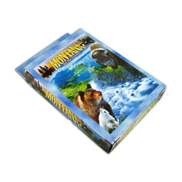 Montana Collage Playing Cards