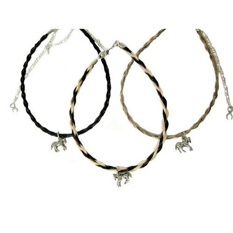 Spiral Choker With Charm