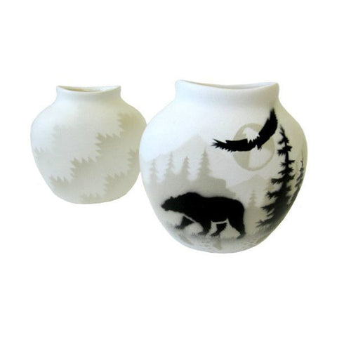 Bear Pillow Vase