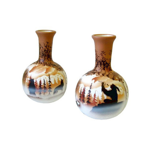 Calling the Spirits Ball Vase