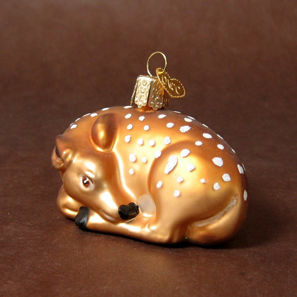Old World Christmas Fawn ornament