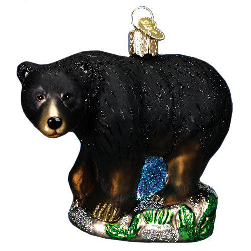 Black Bear Ornament by Old World Christmas