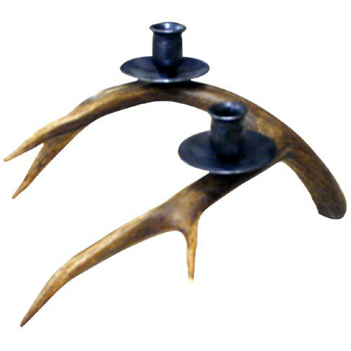 Double Antler Candleholder by High Country Arts