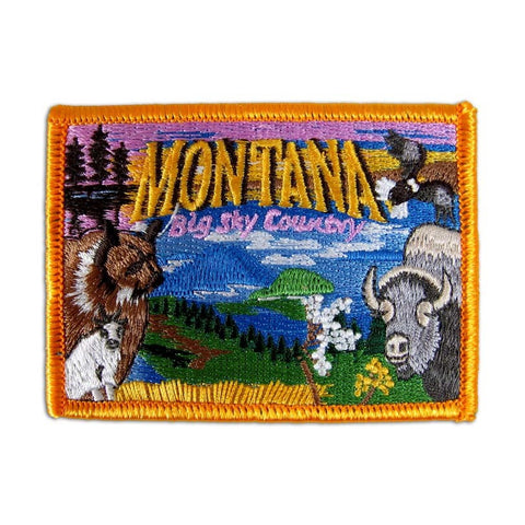 Montana Collage Patch
