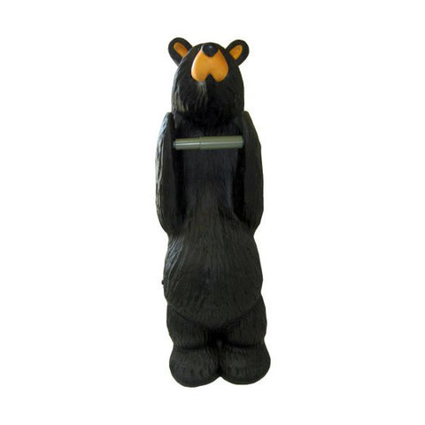 "Bearfoots ""John"" Toilet Paper Holder by Big Sky Carvers"
