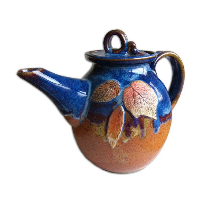 Indian Summer Blue Tea Pot